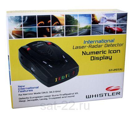 Радар-детектор Whistler GT-265 Xi